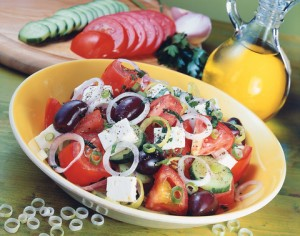 "greek salad ""Horatiki"""